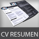 Resume/CV & Business Card - GraphicRiver Item for Sale