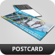 Corporate Postcard Template Vol 4 - GraphicRiver Item for Sale