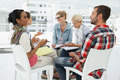 Group of casual young people in meeting at office - PhotoDune Item for Sale