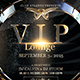 VIP Lounge Flyer - GraphicRiver Item for Sale