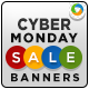 Cyber Monday Banners - Set I - GraphicRiver Item for Sale