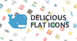 Delicious Flat Icons