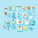 Flat Medical Icons Set - GraphicRiver Item for Sale
