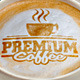 Caffee Latte Art Logo Mockup Set - GraphicRiver Item for Sale