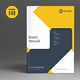 Brand Manual Template - GraphicRiver Item for Sale