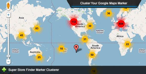 Super Store Finder – Marker Clusterer Add-on