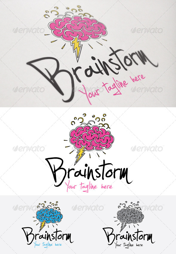 Brainstorm - Humans Logo Templates
