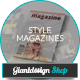 Style - Indesign Magazine Template - GraphicRiver Item for Sale