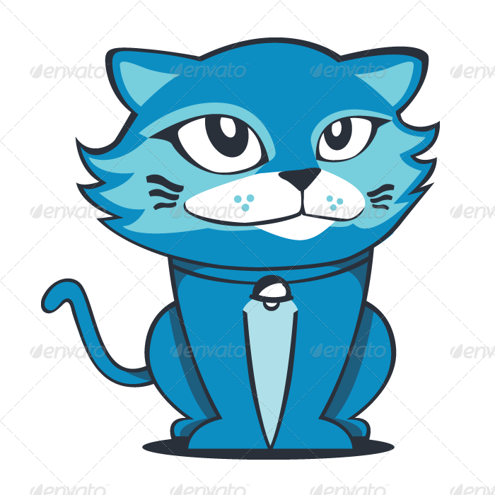Kucingblue by LovinBue   GraphicRiver