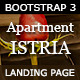 Apartment Istria - Responsive Landing Page - ThemeForest Item for Sale