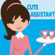 Female Assistant Illustration - GraphicRiver Item for Sale