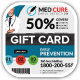 Med Vac Cure Health Care Gift Vouchers - GraphicRiver Item for Sale