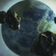 Asteroids are Flying to the Earth - VideoHive Item for Sale