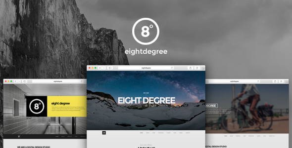 Eight Degree – One Page Parallax Theme