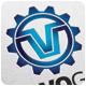 Volvo Gear Logo Template