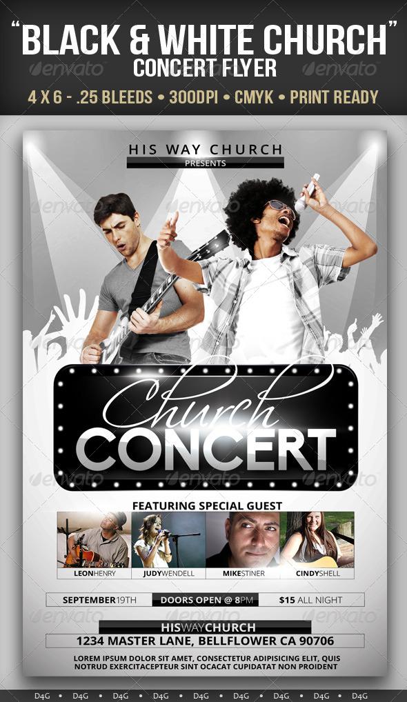 concert flyers
