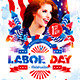 Labor Day Party Flyer vol.2 - GraphicRiver Item for Sale