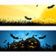 Set of Halloween Banners - GraphicRiver Item for Sale