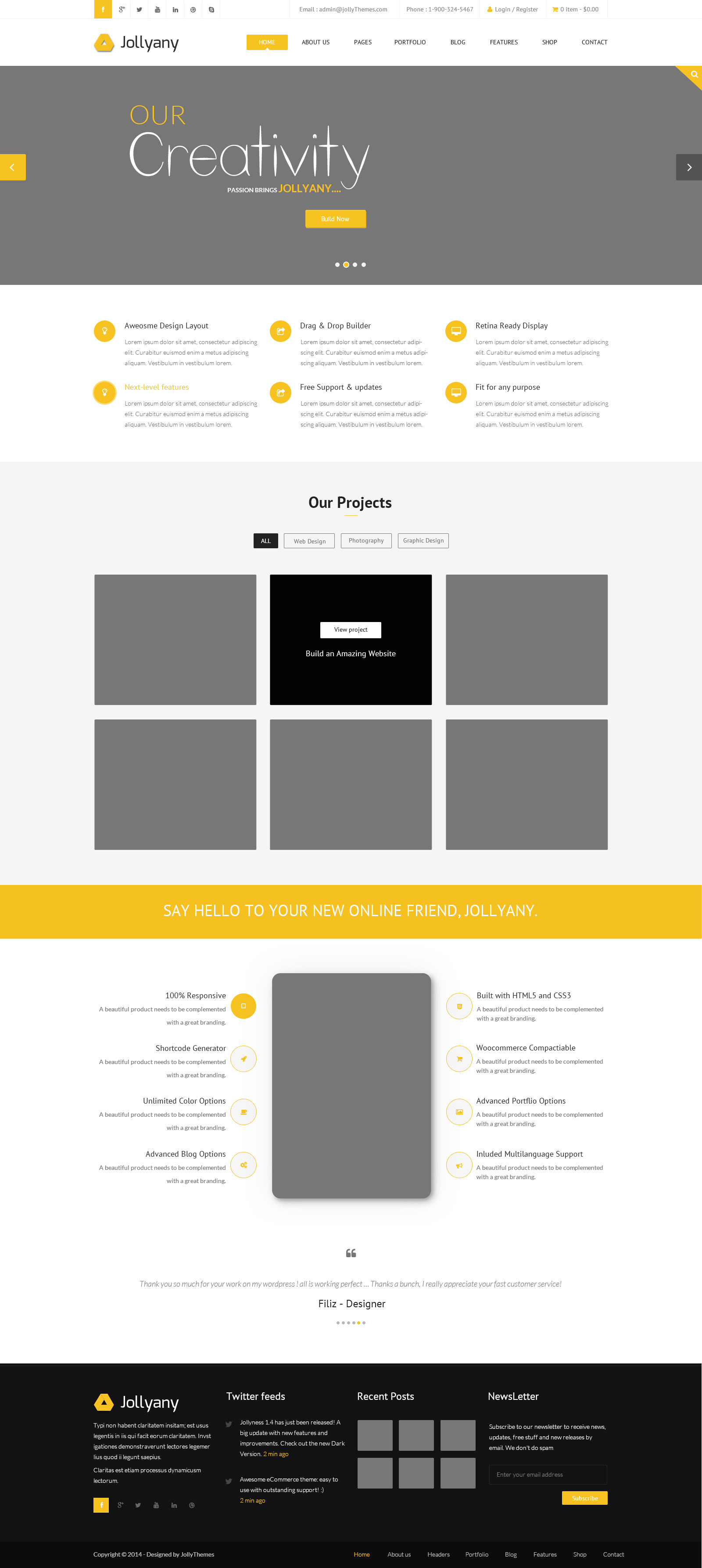 Best Html5 Css3 Template Ideas - Professional Resume Example Ideas ...