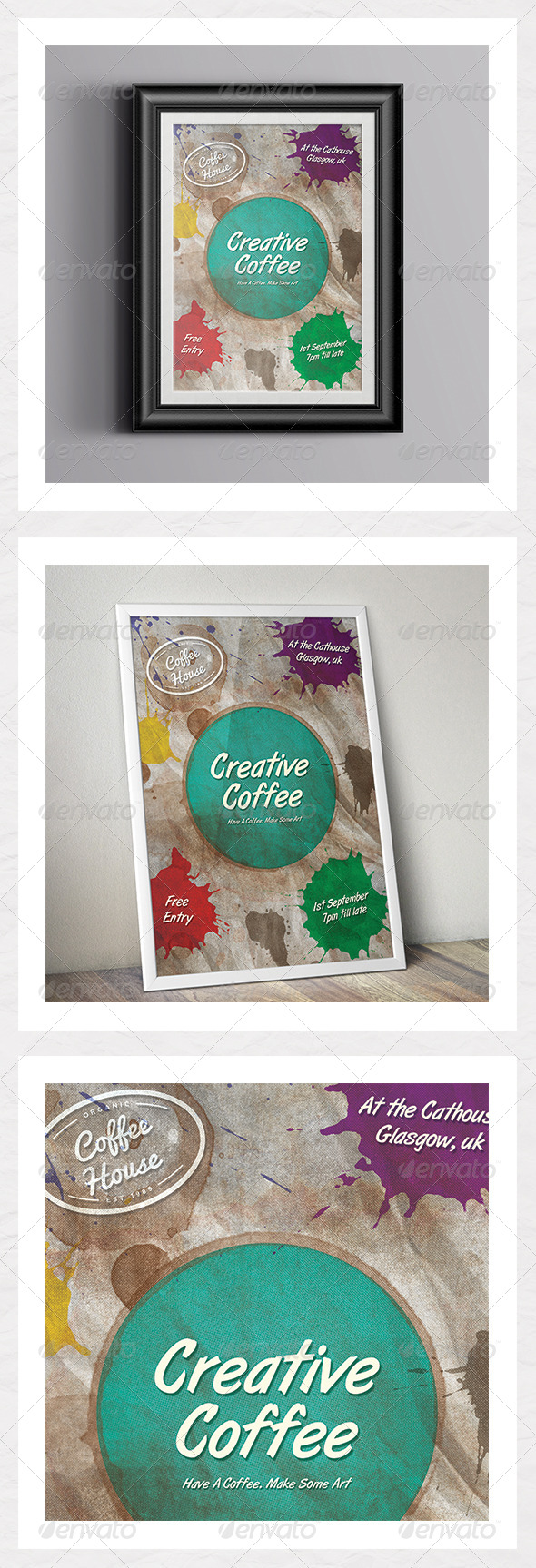 Creative Coffee - Events Flyers