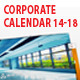 Corporate Wall Calendar 2014 - 2018 - GraphicRiver Item for Sale