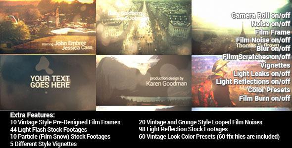 Grunge Camera Effect : Vintage and grunge film effect by ninjainc videohive