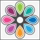 Eight Color Life Ornament Logo - GraphicRiver Item for Sale