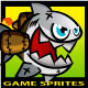 Jetpack Shark Character Sprite - GraphicRiver Item for Sale
