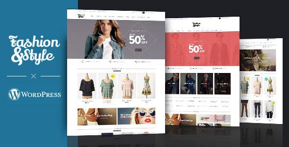 Fashion e Style WordPress template