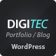 DigiTec WordPress Theme Nulled