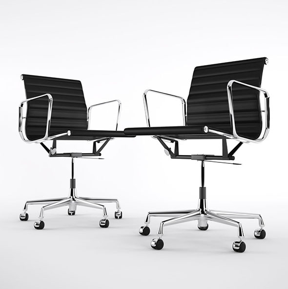 Vitra EA 117 - 3DOcean Item for Sale