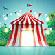 Circus Tent in Nature - GraphicRiver Item for Sale