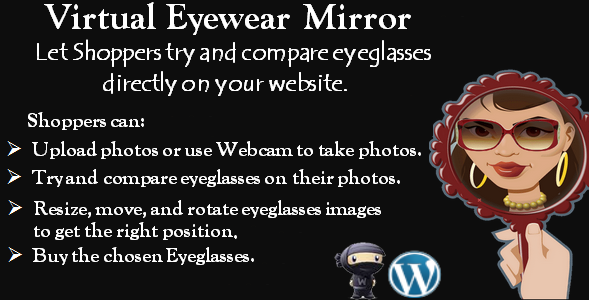 "Virtual Eyewear Try-on ""WooCommerce plugin"" - CodeCanyon Item for Sale"