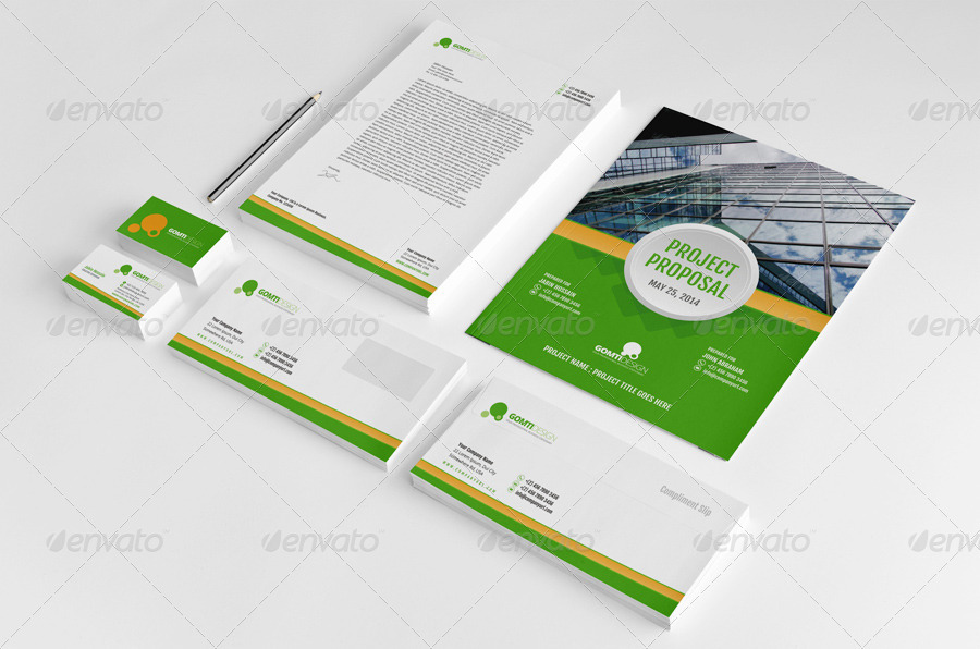 Proposal, Stationary & Invoice Design Template v2 by Jbn-Comilla ...