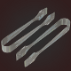 Sugar Tong 3D Model Low - High Poly - 3DOcean Item for Sale