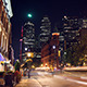 Modern City Street at Night - VideoHive Item for Sale