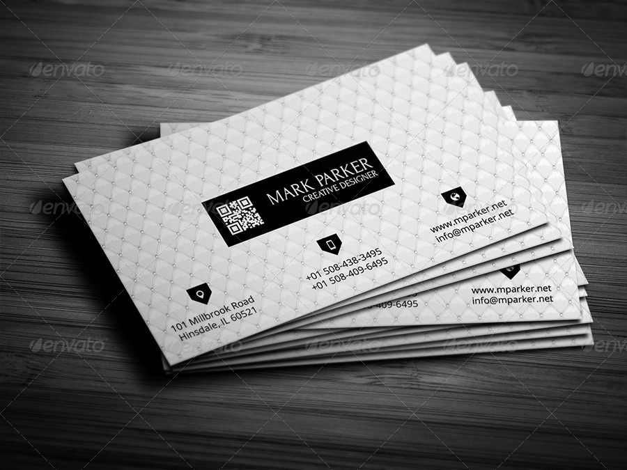 Royal White Business Card by pixelleague | GraphicRiver