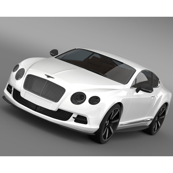 Bentley Continental GT Mulliner Styling 2011 By Creator_3d