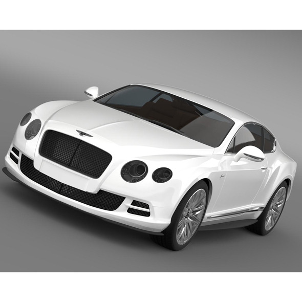 Bentley Continental GT Speed 2014 - 3DOcean Item for Sale