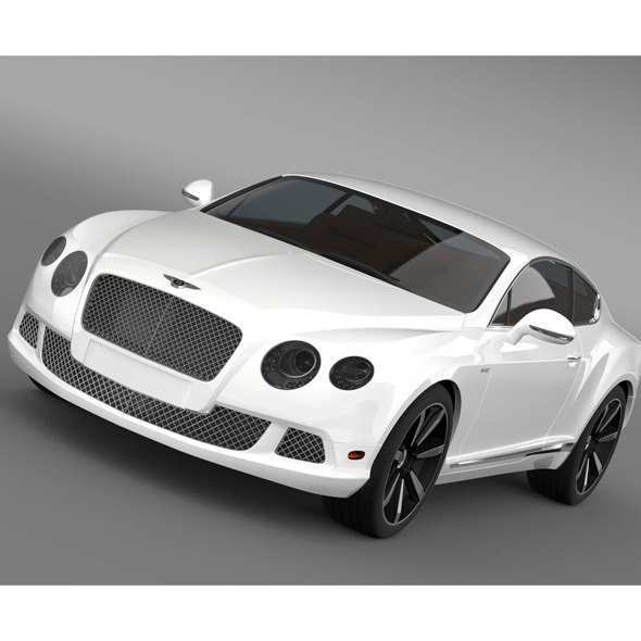 Bentley Continental GT Speed Le Mans Edition 2013 - 3DOcean Item for Sale