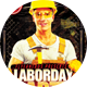 LaborDay Night Party Flyer - GraphicRiver Item for Sale