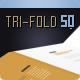 Brochure Tri-Fold Square Series 7 - GraphicRiver Item for Sale