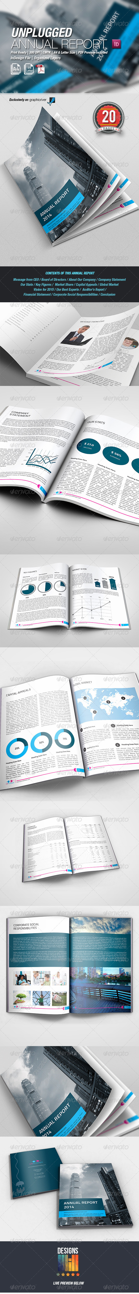 UnPlugged Annual Report - Corporate Brochures