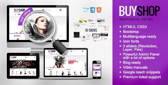 BuyShop – Opencart Responsive Theme