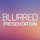 Blurred Presentation PowerPoint - GraphicRiver Item for Sale
