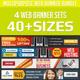 Corporate Web Banner Ad Design Bundle - GraphicRiver Item for Sale
