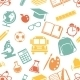 Seamless Pattern of School Symbols - GraphicRiver Item for Sale