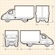 Delivery Cargo Truck - GraphicRiver Item for Sale
