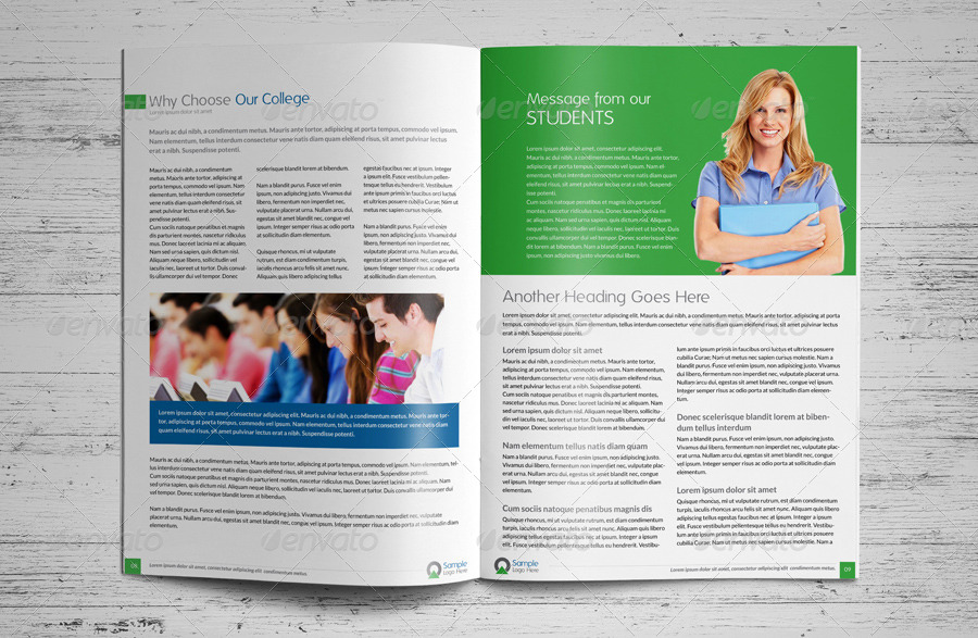 College University Prospectus Magazine By JbnComilla  Graphicriver
