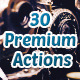30 Premium Actions - GraphicRiver Item for Sale